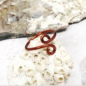 BOGO💫Coiled Copper Ring